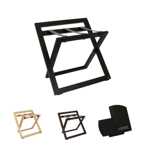 porte valises pour h tel h tre massif roootz. Black Bedroom Furniture Sets. Home Design Ideas