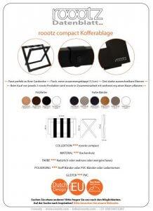Kofferablage | Kofferständer