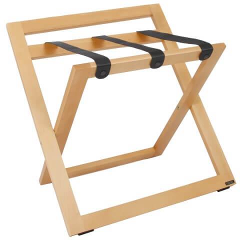 Kofferböcke Holz Natürlich nylon Schwarz