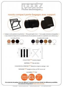 Porte Bagages Avec Support | ROOOTZ