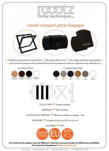 Fourniture Hotel | Repose bagages ROOOTZ