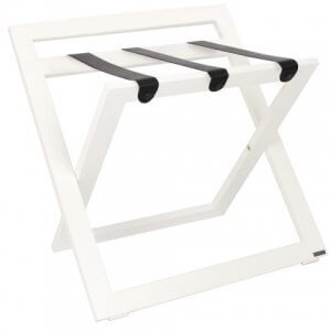 ROOOTZ Hotelroom Products Luggagerack White