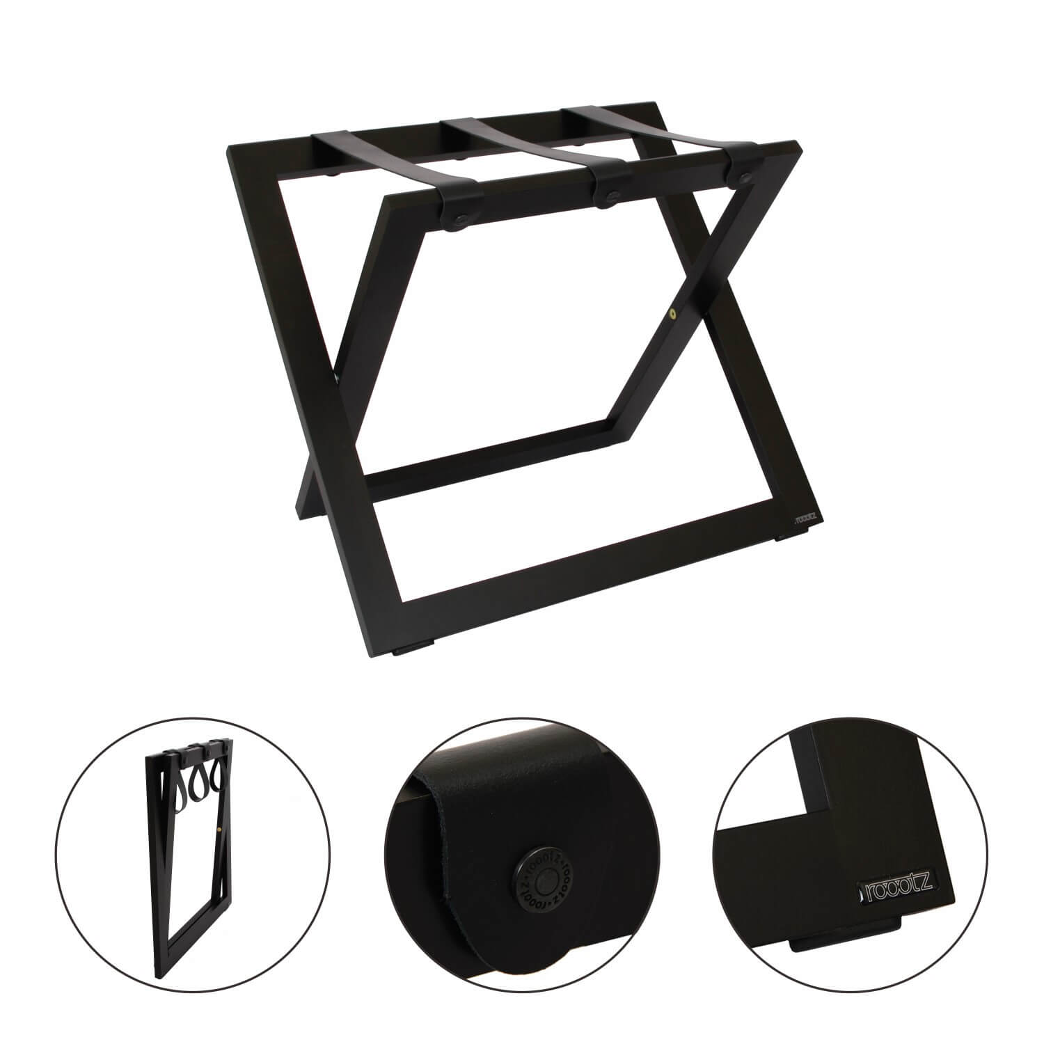 Roootz Compact Hotel Luggage Rack