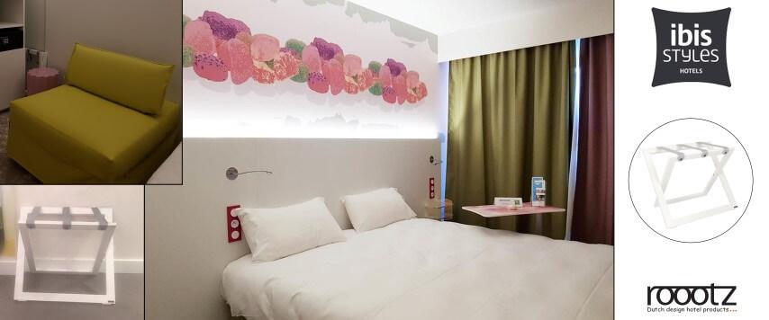 Hotel Gepäcablage ROOOTZ