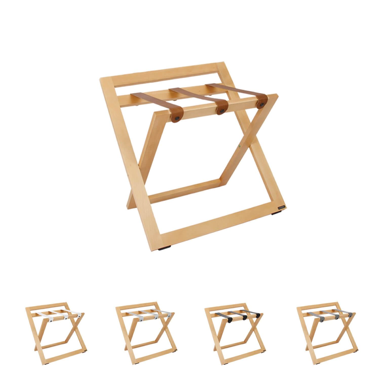 Kofferständer Klappbar | Kofferablage Holz | Kofferböcke | Gepäckablage