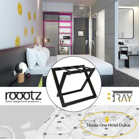 Compacte Kofferrekken | ROOOTZ Hotel Producten