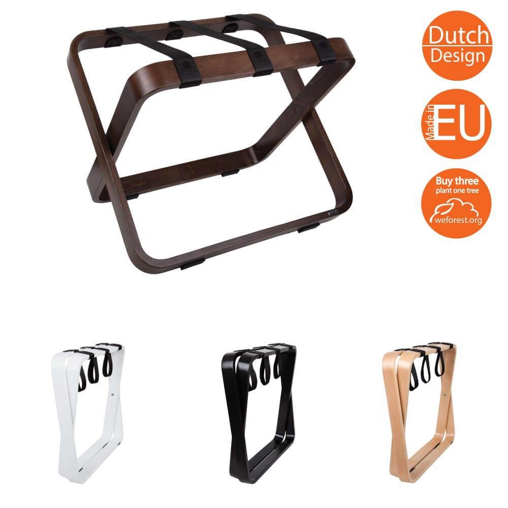 Bentwood luggage racks for hotels | ROOOTZ