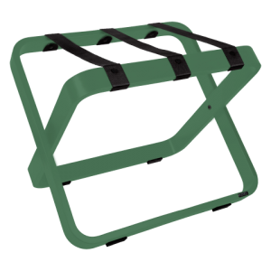 Hotel Luggage Racks Green Color