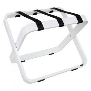 Porte-bagages blanc pour hôtels ROOOTZ