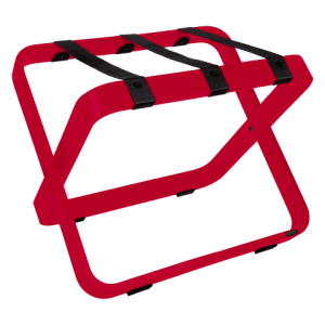Porte-bagages pour hôtel Rouge