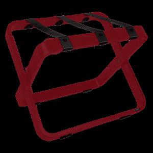 Porte-valises rouge pour hotels