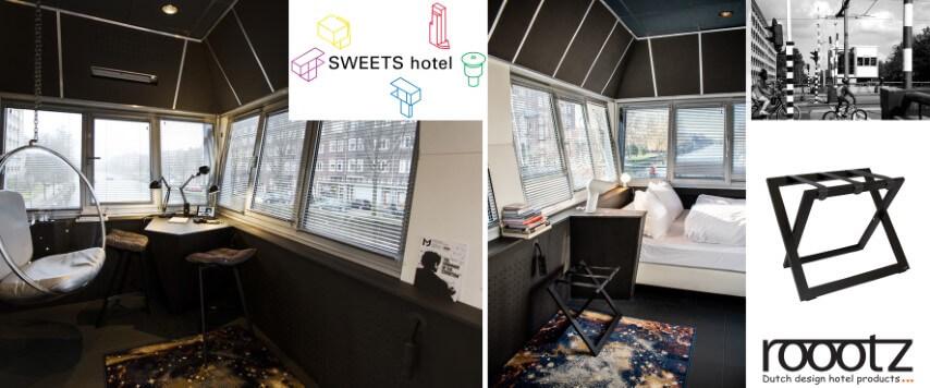 Kofferablage Hotels