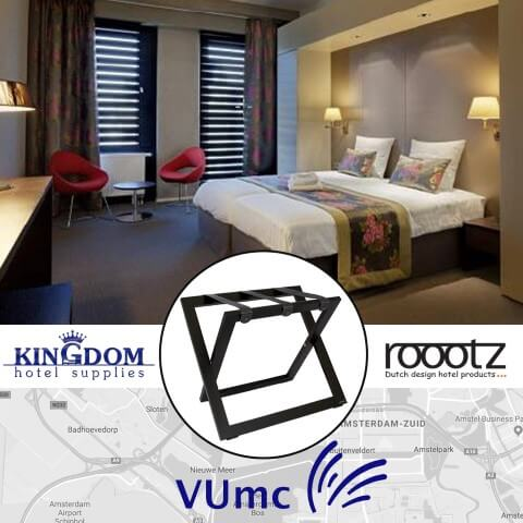 Roootz Kofferablagen | Hotelprodukte