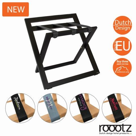 Hölzerne Hotelgepäckträger | Roootz Compact Gepäckträger